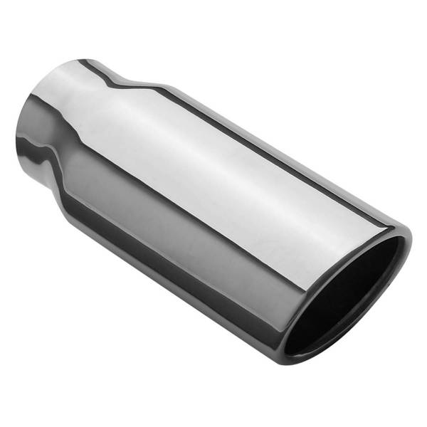 MagnaFlow Exhaust Products - MagnaFlow Exhaust Products Single Exhaust Tip - 2.25in. Inlet/2.5 x 3.2in. Outlet 35129