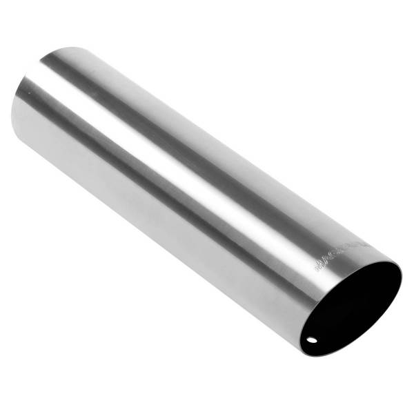 MagnaFlow Exhaust Products - MagnaFlow Exhaust Products Single Exhaust Tip - 3in. Inlet/3in. Outlet 35101