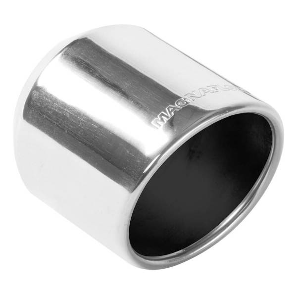 MagnaFlow Exhaust Products - MagnaFlow Exhaust Products Single Exhaust Tip - 2.5in. Inlet/4in. Outlet 35136