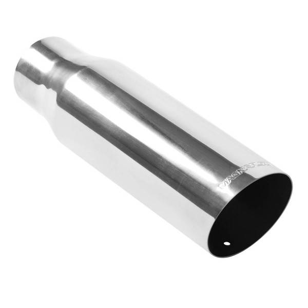 MagnaFlow Exhaust Products - MagnaFlow Exhaust Products Single Exhaust Tip - 3in. Inlet/3.5in. Outlet 35104