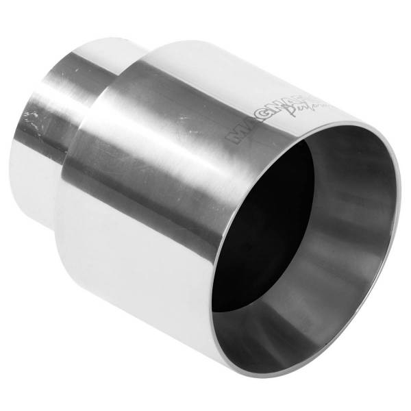 MagnaFlow Exhaust Products - MagnaFlow Exhaust Products Single Exhaust Tip - 2.25in. Inlet/4in. Outlet 35124
