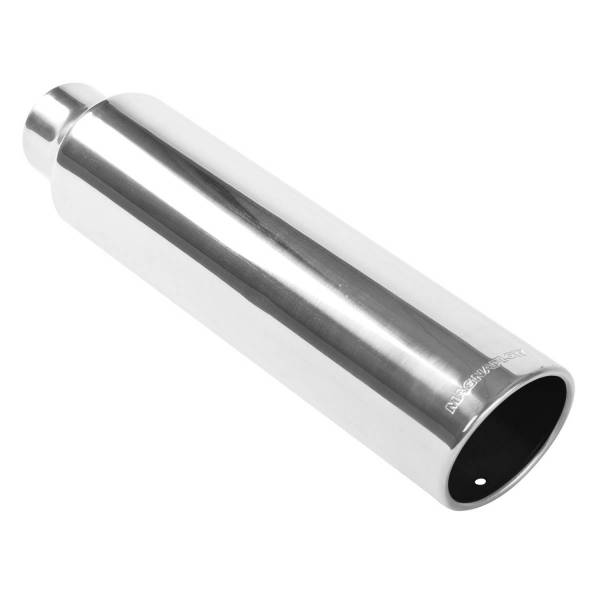 MagnaFlow Exhaust Products - MagnaFlow Exhaust Products Single Exhaust Tip - 2.5in. Inlet/3in. Outlet 35111