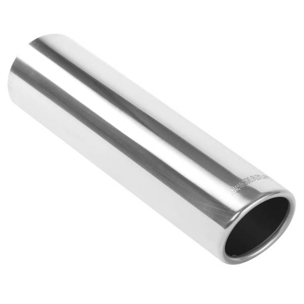 MagnaFlow Exhaust Products - MagnaFlow Exhaust Products Single Exhaust Tip - 3in. Inlet/4in. Outlet 35116