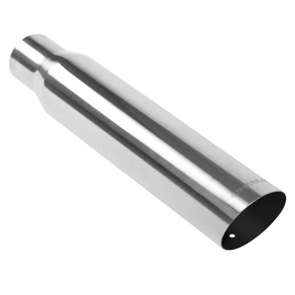 MagnaFlow Exhaust Products - MagnaFlow Exhaust Products Single Exhaust Tip - 2.5in. Inlet/3.5in. Outlet 35105