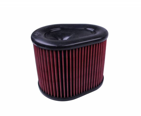 S&B Filters - S&B Filters Replacement Filter for S&B Cold Air Intake Kit (Cleanable, 8-ply Cotton) KF-1062