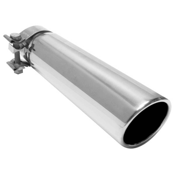 MagnaFlow Exhaust Products - MagnaFlow Exhaust Products Single Exhaust Tip - 2.5in. Inlet/3in. Outlet 35208