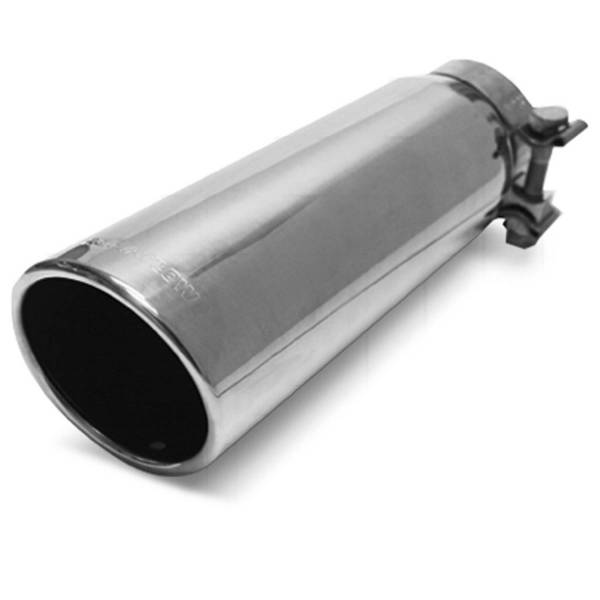 MagnaFlow Exhaust Products - MagnaFlow Exhaust Products Single Exhaust Tip - 2.75in. Inlet/3.5in. Outlet 35209
