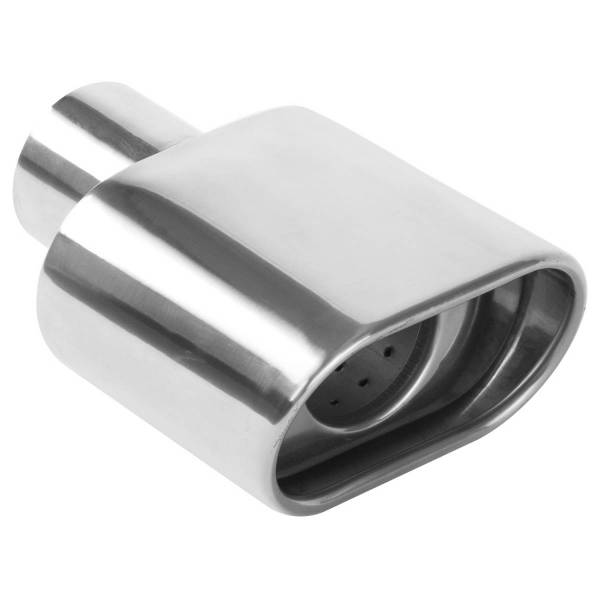 MagnaFlow Exhaust Products - MagnaFlow Exhaust Products Single Exhaust Tip - 2.25in. Inlet/2.75 x 5.25in. Outlet 35175