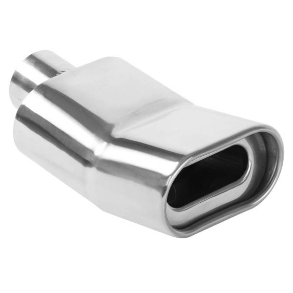 MagnaFlow Exhaust Products - MagnaFlow Exhaust Products Single Exhaust Tip - 2.25in. Inlet/2.75 x 5.25in. Outlet 35176