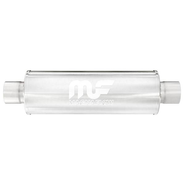 MagnaFlow Exhaust Products - MagnaFlow Exhaust Products Universal Performance Muffler - 2.5/2.5 10436