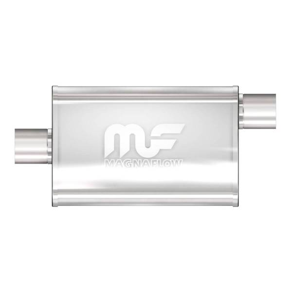MagnaFlow Exhaust Products - MagnaFlow Exhaust Products Universal Performance Muffler - 2.5/2.5 11366