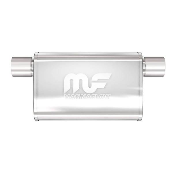 MagnaFlow Exhaust Products - MagnaFlow Exhaust Products Universal Performance Muffler - 2.5/2.5 11376