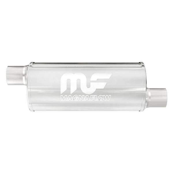 MagnaFlow Exhaust Products - MagnaFlow Exhaust Products Universal Performance Muffler - 2.5/2.5 12636