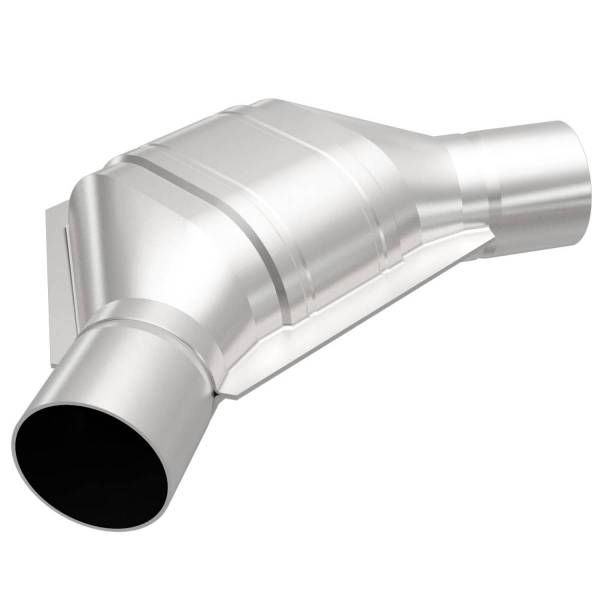MagnaFlow Exhaust Products - MagnaFlow Exhaust Products Universal Catalytic Converter - 2.50in. 91086