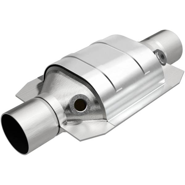 MagnaFlow Exhaust Products - MagnaFlow Exhaust Products Universal Catalytic Converter - 2.50in. 94166