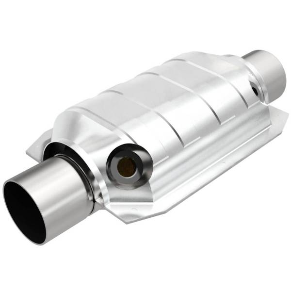 MagnaFlow Exhaust Products - MagnaFlow Exhaust Products Universal Catalytic Converter - 2.50in. 91066