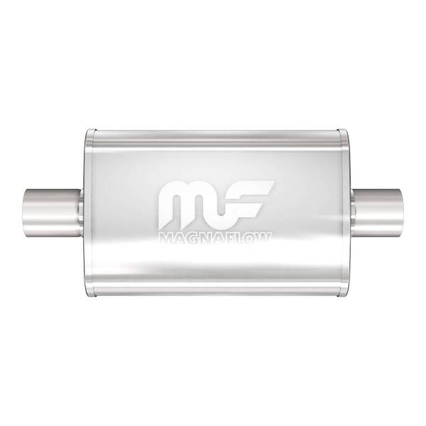 MagnaFlow Exhaust Products - MagnaFlow Exhaust Products Universal Performance Muffler - 2.5/2.5 11246