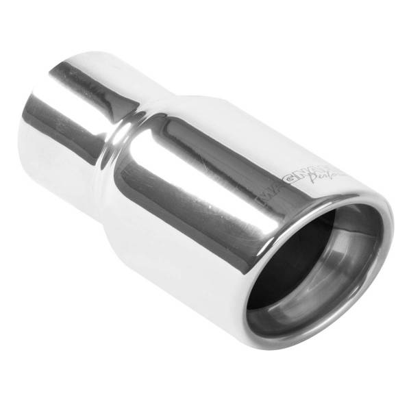 MagnaFlow Exhaust Products - MagnaFlow Exhaust Products Single Exhaust Tip - 2.25in. Inlet/3in. Outlet 35163