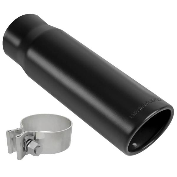 MagnaFlow Exhaust Products - MagnaFlow Exhaust Products Single Exhaust Tip - 2.5in. Inlet/3in. Outlet 35234
