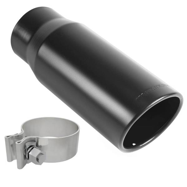 MagnaFlow Exhaust Products - MagnaFlow Exhaust Products Single Exhaust Tip - 2.75in. Inlet/3.5in. Outlet 35235