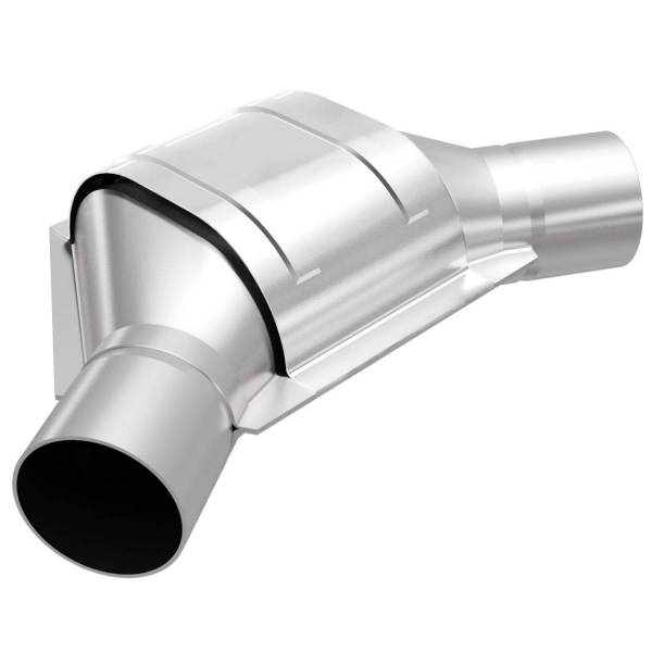 MagnaFlow Exhaust Products - MagnaFlow Exhaust Products Universal Catalytic Converter - 2.50in. 99186HM