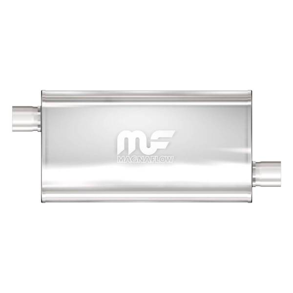 MagnaFlow Exhaust Products - MagnaFlow Exhaust Products Universal Performance Muffler - 2.5/2.5 12577