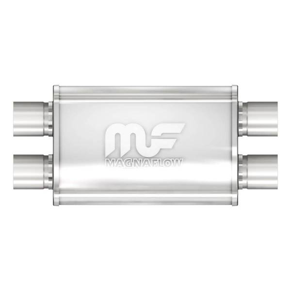 MagnaFlow Exhaust Products - MagnaFlow Exhaust Products Universal Performance Muffler - 2.5/2.5 11379