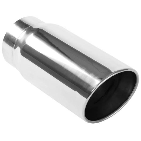 MagnaFlow Exhaust Products - MagnaFlow Exhaust Products Single Exhaust Tip - 5in. Inlet/6in. Outlet 35233