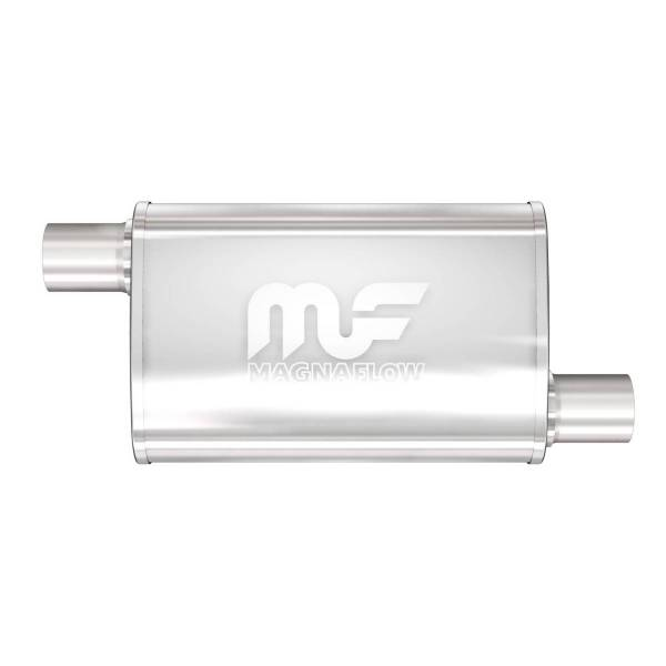 MagnaFlow Exhaust Products - MagnaFlow Exhaust Products Universal Performance Muffler - 2.5/2.5 14336
