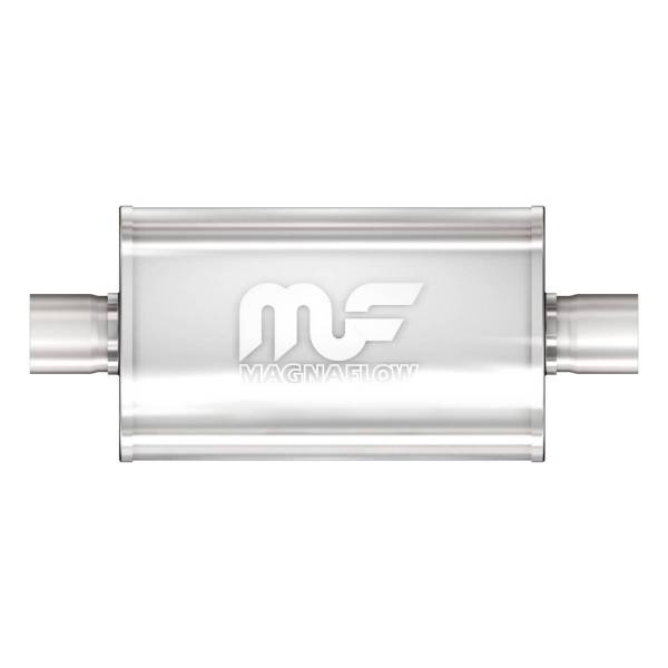 MagnaFlow Exhaust Products - MagnaFlow Exhaust Products Universal Performance Muffler - 2.5/2.5 12276