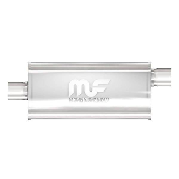 MagnaFlow Exhaust Products - MagnaFlow Exhaust Products Universal Performance Muffler - 2.5/2.5 12286