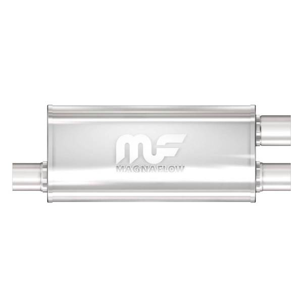 MagnaFlow Exhaust Products - MagnaFlow Exhaust Products Universal Performance Muffler - 2.5/2.5 12265