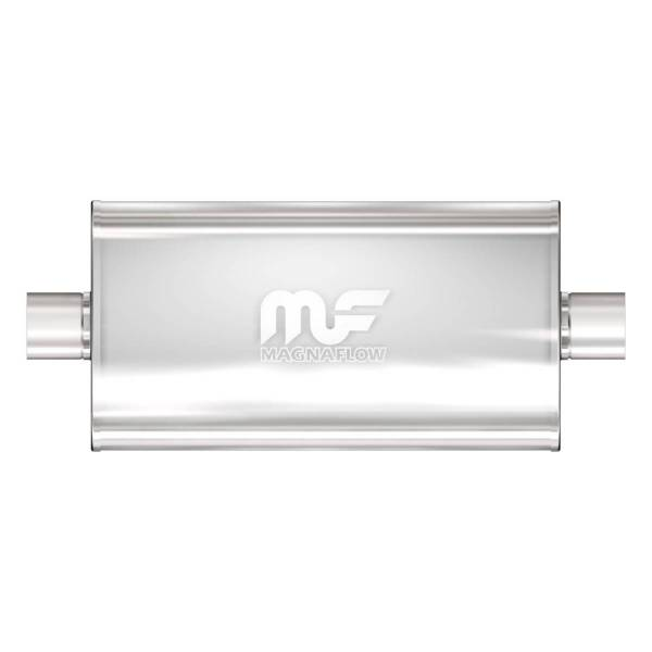 MagnaFlow Exhaust Products - MagnaFlow Exhaust Products Universal Performance Muffler - 2.5/2.5 12576