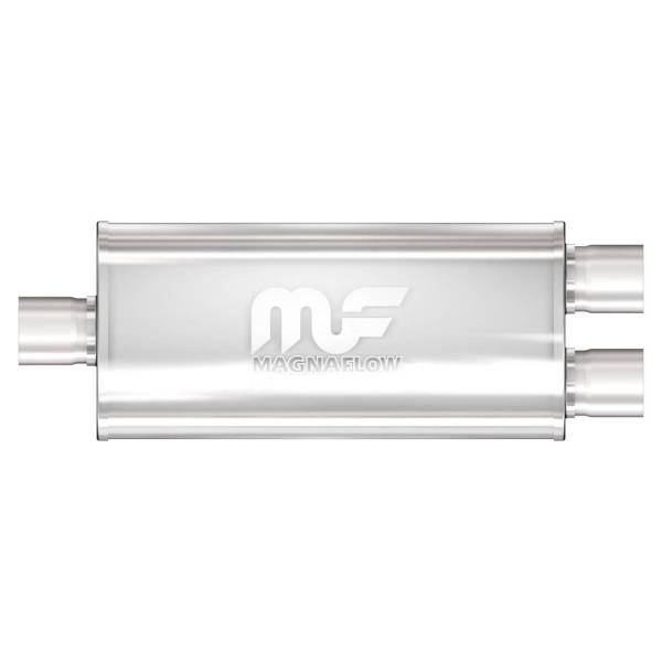 MagnaFlow Exhaust Products - MagnaFlow Exhaust Products Universal Performance Muffler - 2.5/2.5 12368