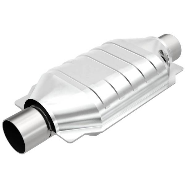MagnaFlow Exhaust Products - MagnaFlow Exhaust Products Universal Catalytic Converter - 2.50in. 93536
