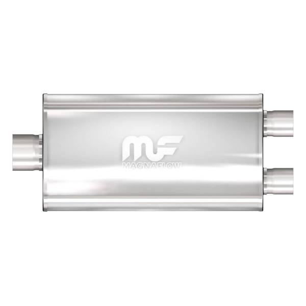 MagnaFlow Exhaust Products - MagnaFlow Exhaust Products Universal Performance Muffler - 2.5/2.25 12580