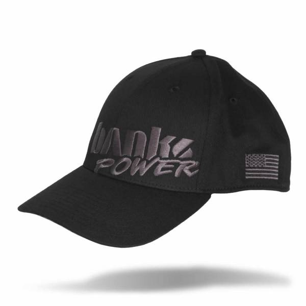 Banks Power - Power Hat Premium Fitted Black/Gray Curved Bill Flexible Fit Banks Power