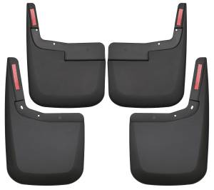 Silverado HD/Sierra HD - 2020 Duramax 6.6L L5P - Husky Liners - Husky Liners Front and Rear Mud Guard Set 58286