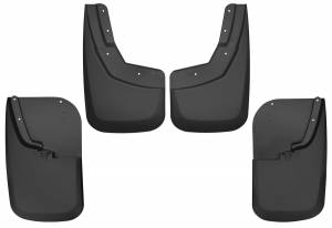 Exterior - Mud Flaps - Husky Liners - Husky Liners Front and Rear Mud Guard Set 56686