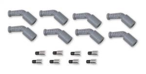 Ignition & Parts - Spark Plug Boot Kit - MSD - MSD LS1, 45 Degree Boots & Terminals, 8-Pack 33048