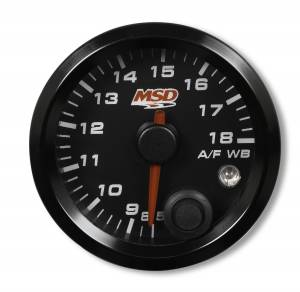 MSD - MSD 2-1/16Gg Wideband Air/Fuel Gauge,Blk Face 4650