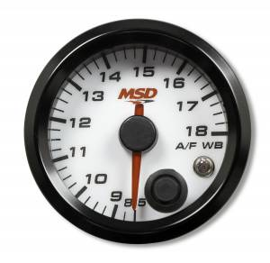 MSD - MSD 2-1/16Gg Wideband Air/Fuel Gauge,Wht Face 4651