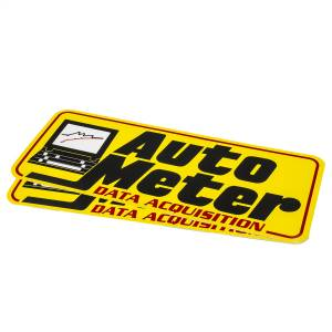 Exterior - Exterior Accessories - AutoMeter - AutoMeter DECAL,CONTINGENCY,YELLOW,'DATA ACQUISITION' 0216