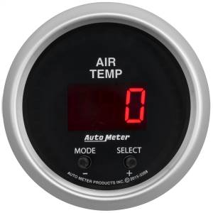 "Electrical - Misc. Electircal - AutoMeter - AutoMeter GAUGE, AIR TEMP, DUAL, 2 1/16"" , 0-300 Degrees F, DIGITAL, SPORT-COMP 3358"