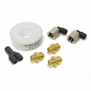 Performance - Water & Meth Injection - Banks Power - Injection Nozzle Kit-2 Number 4 30 LB/Hr At 100PSI 7, 52 LB/Hr At 100PSI 14 103 LB/Hr At 100PSI 100 Degree Full Cone 90 Degree Swivel Nozzle Fitting Banks Power