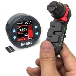 Performance - Chips & Tuners - Banks Power - Derringer Tuner with ActiveSafety, includes iDash 1.8 DataMonster for use with 2015-16 Ford F-150 EcoBoost 3.5L Banks Power