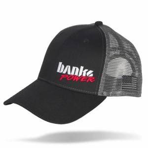 Banks Power - Power Hat Twill/Mesh Black/Gray/WhiteRed Curved Bill Snap Backstrap Banks Power - Image 1