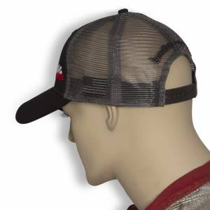 Banks Power - Power Hat Twill/Mesh Black/Gray/WhiteRed Curved Bill Snap Backstrap Banks Power - Image 5