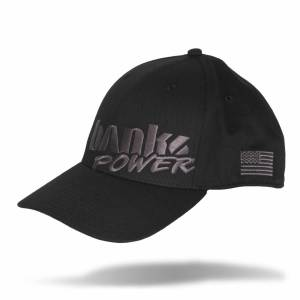 Banks Power - Power Hat Premium Fitted Black/Gray Curved Bill Flexible Fit Banks Power - Image 1