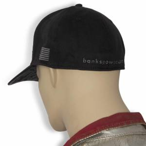Banks Power - Power Hat Premium Fitted Black/Gray Curved Bill Flexible Fit Banks Power - Image 5